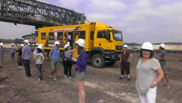 Site visit to coal mine Gut Geisendorf